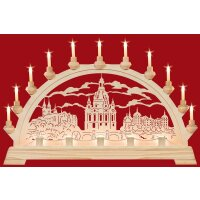 Taulin candle arch Saxonia arch - with front lighting