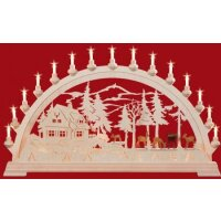 Taulin candle arch ranger house with deers