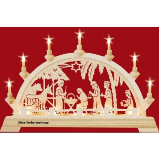 Taulin candle arch Christi nativity in the house -...