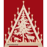 Taulin triangle arch pointed tree - without front lighting