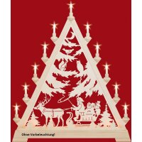 Taulin triangle arch Nicholas with sleigh - without front...
