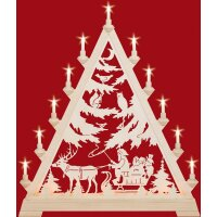 Taulin triangle arch Nicholas with sleigh - with front...