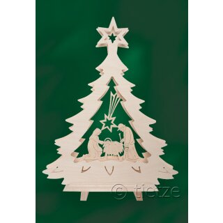 Tietze double triangle arch fir star of Bethlehem