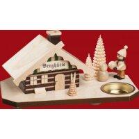Taulin smoking house mountain cottage with snowman farmer