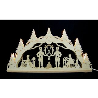 Decor and Design candle arch Ore Mountains 3D