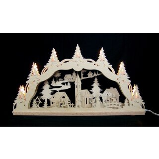Decor and Design candle arch christmas village with...