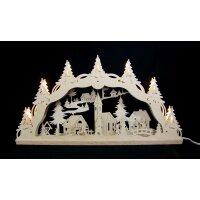 Decor und Design Schwibbogen Weihnachtsdorf mit Kindern 3D