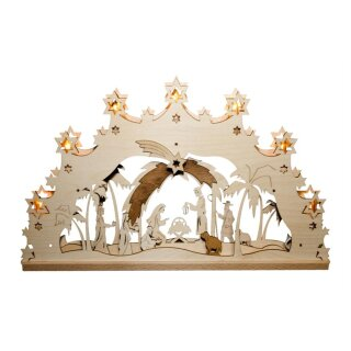 Decor and Design candle arch Christi nativity 3D