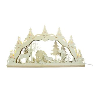 Deocr and Design candle arch forest 3D