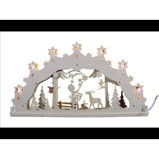 Decor and Design candle arch Sternthaler 3D