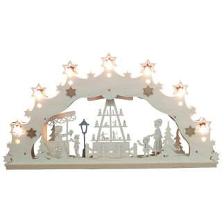 Decor and Design candle arch pyramid 3D