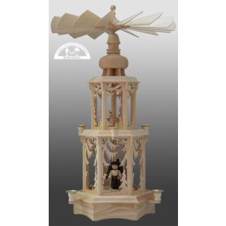 Seidel Christmas pyramid forest with turned figures