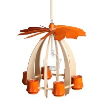 Schalling hanging pyramid Nova ahorn/ orange