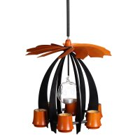 Schalling hanging pyramid Nova anthracite/ orange