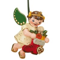 Hubrig tree decoration angel with red boot