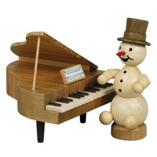 Wagner snowman musician on the wing