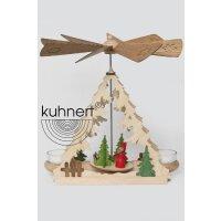 Kuhnert table pyramid Santa Claus