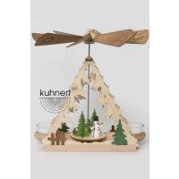 Kuhnert table pyramid snowman