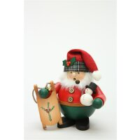 Christian Ulbricht Smoker Santa Claus with carriage