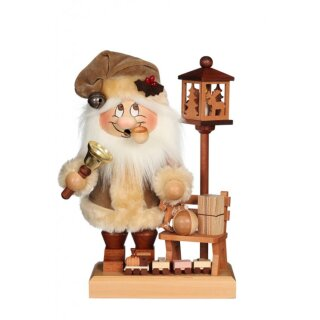 Christian Ulbricht smoker imp Santa Claus with bench