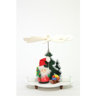 Christian Ulbricht tealight pyramid Santa Claus with sleigh