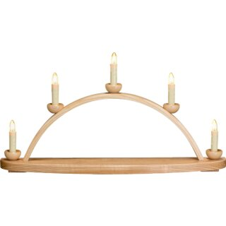 Seiffener Volkskunst eG candle arch empty - electric...