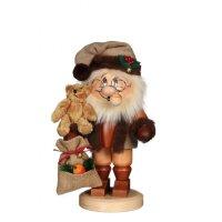 Christian Ulbricht smoker imp Santa Claus with Teddy
