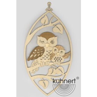 Kuhnert window picture owl