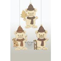 Kuhnert tree decoration christmas teddy
