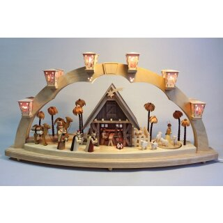 Richard Glässer candle arch Christi nativity