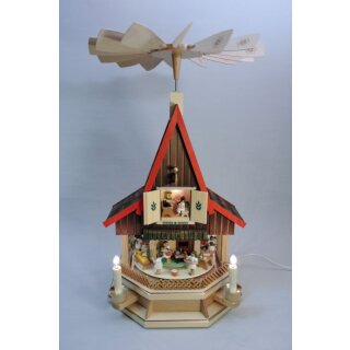 Richard Glässer pyramid advent house angle bakery -...