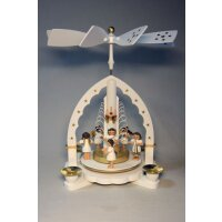 Richard Glässer table pyramid angel concert