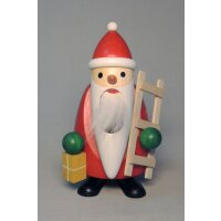 Richard Glässer Nussknacker Langbart Santa mit Leiter