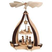 Zeilder design pyramid Christi nativity