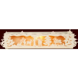 Saico candle arch elevation motif forest small