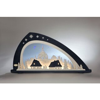 Weigla candle arch LED Seiffen