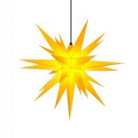 Herrnhuter Weihnachtsstern A7 gelb aus Kunststoff mit...