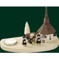 Richard Glässer candlestick church of Seiffen and...