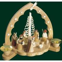 Richard Glässer candlestick christi nativity