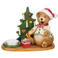 Hubrig smoker miniature Teddys christmas presents