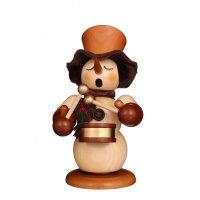 Christian Ulbricht smoker snowman with drum nature