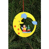 Christian Ulbricht Baumbehang Engel mit Baum im Mond