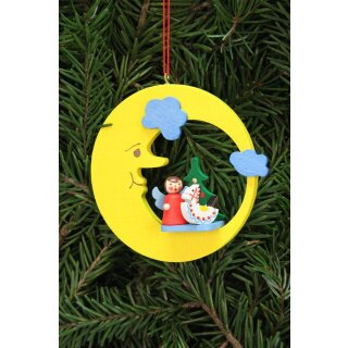 Christian Ulbricht tree decoration angel with toy in the...