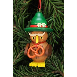 Christian Ulbricht tree decoration owl Bavarian