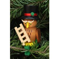 Christian Ulbricht tree decoration owl chimney sweeper on...