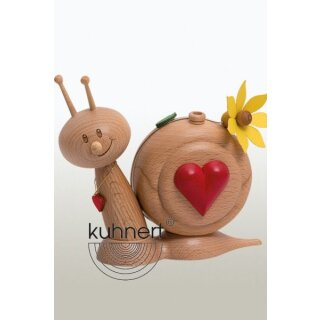 Kuhnert incense figure heart slug