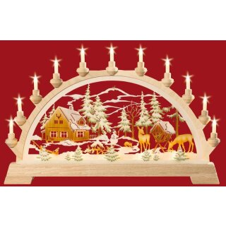Taulin candle arch ranger house colored
