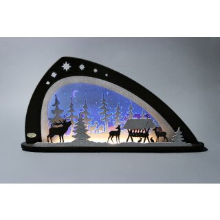 Weigla candle arch LED forest animals