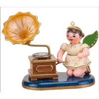 Hubrig angel with phonograph