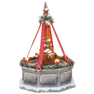 Hubrig winter kids city fountains - electric illuminated